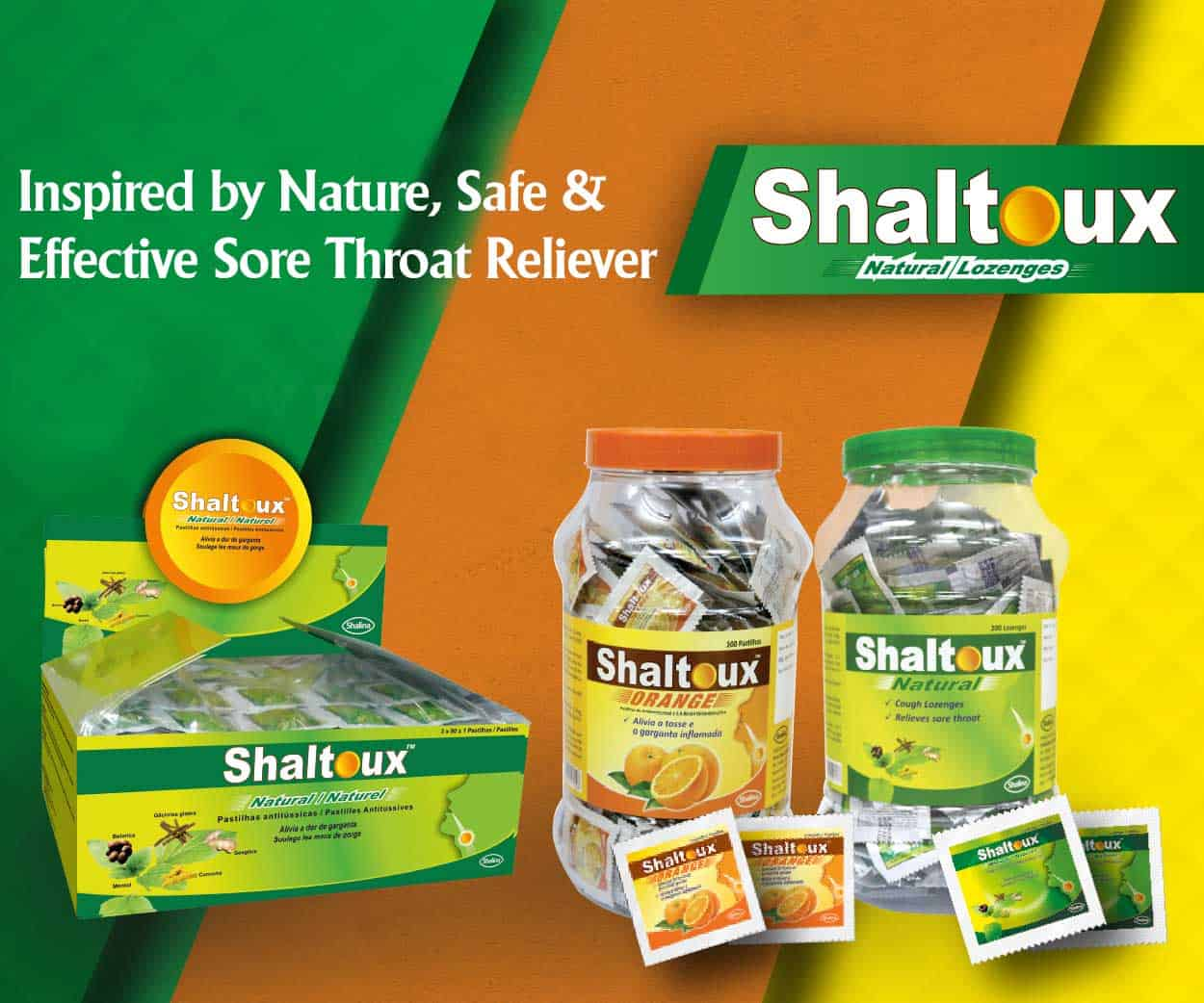 Shaltoux, inspired by nature